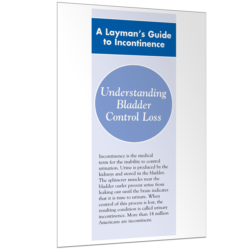 Urinary Incontinence: Laymen's Guide to Incontinence Brochure