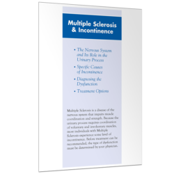 MS and Incontinence Brochure