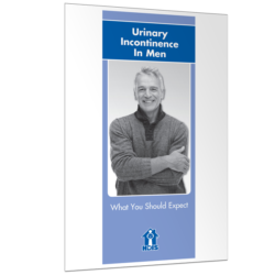 Urinary Incontinence In Men Brochure